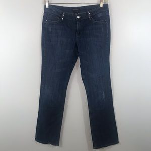 White House Black Market Superstar Straight Jeans